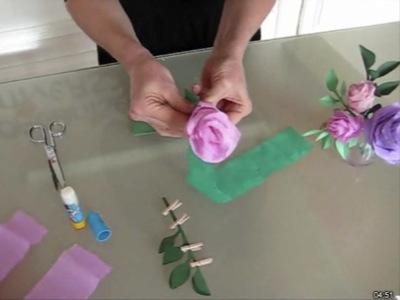 Rose recherche de cours conseils trucs et astuces - Comment faire une rose en papier facile ...