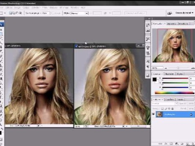 faire un make-over avec Photoshop - informatique