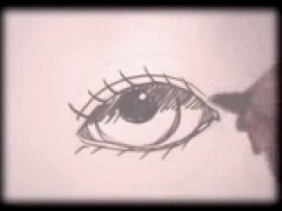 apprendre a dessiner un oeil