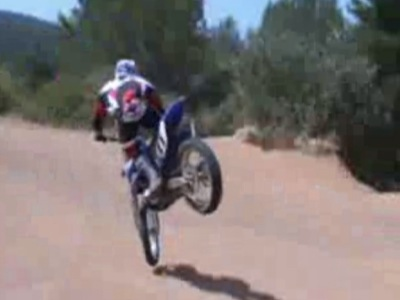 apprendre le moto-cross - le virage