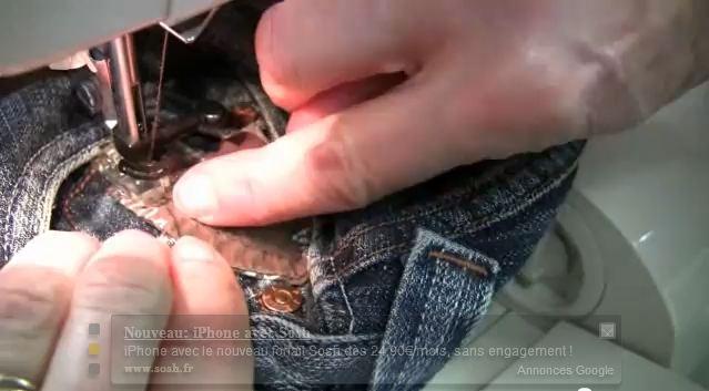 apprendre a coudre un jean
