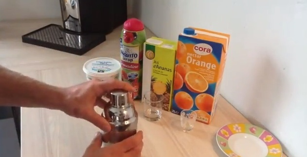 réaliser un cocktail sans alcool