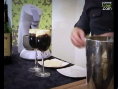 faire un cocktail Irish Coffee