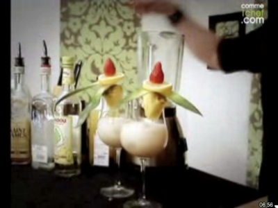 faire un cocktail Piña Colada