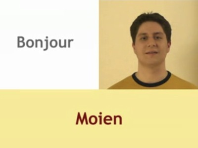 apprendre le Luxembourgeois - salutations
