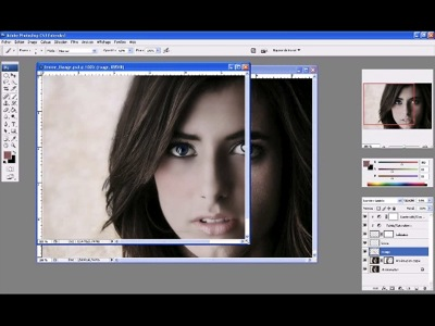 retoucher un visage sur Photoshop